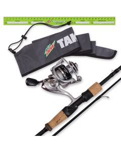 MTN DEW®/NO. 8 TACKLE® Intent Spinning Rod & Reel Combo