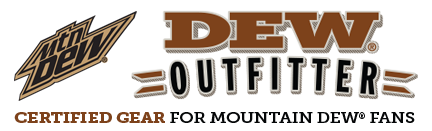 DewOutfitters logo for mobile