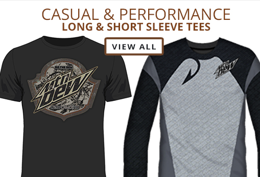 View Casual & Performance Long & Short Sleeve Tees