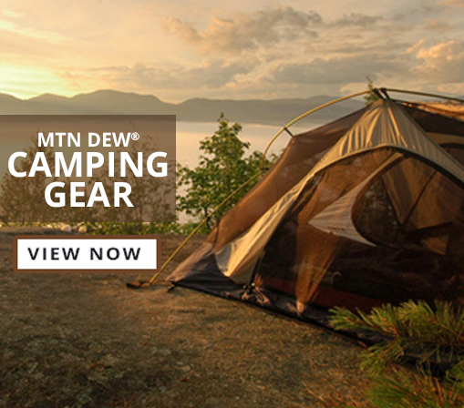 View Mtn Dew Camping Gear