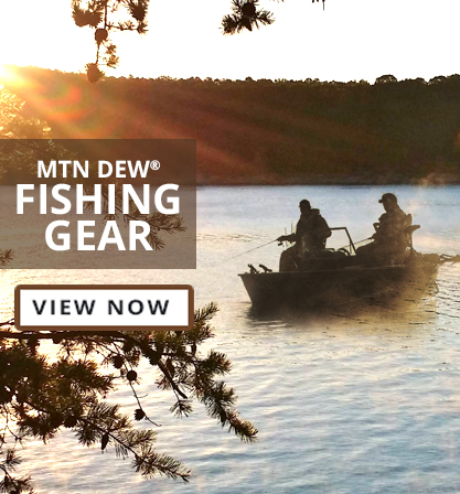 View Mtn Dew Fishing Gear
