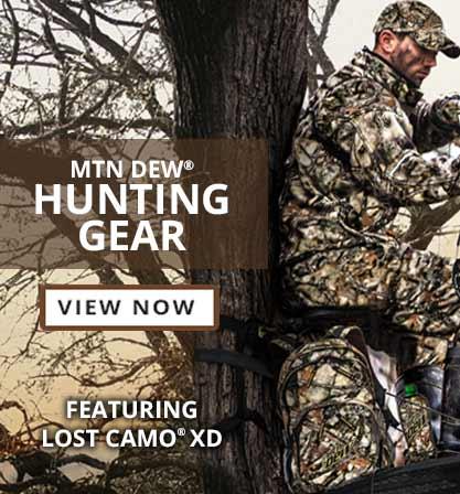 View Mtn Dew Hunting Gear